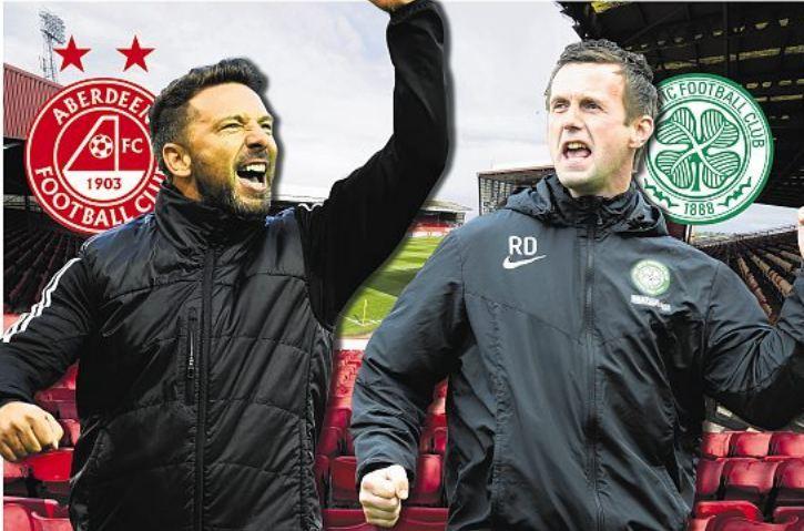 Aberdeen head to Parkhead on Saturday