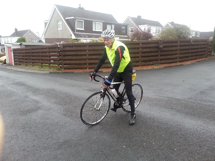 Cyclist Alexander Gibson