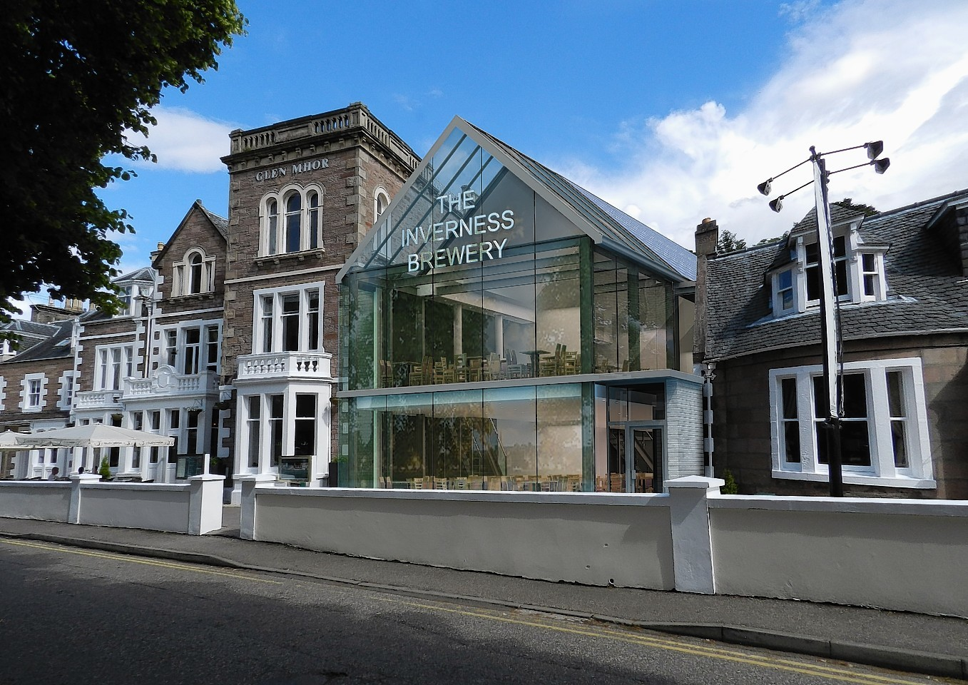 Inverness councillors will next week consider a revised planning application for a micro brewery at the Glen Mhor Hotel on Ness Bank.