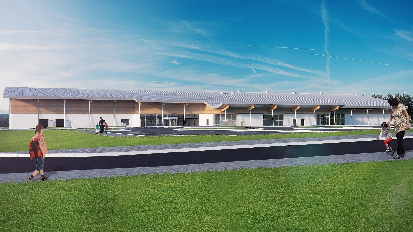 How Banchory Sports Village might look.