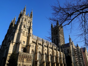Canterbury Cathedral in Kent.
