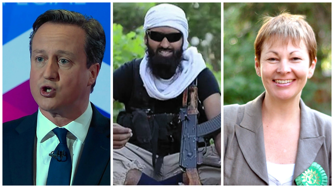 David Cameron, is coming under fire from  Caroline Lucas over the drone strike which is believed to have killed Abdul Raqib Amin,