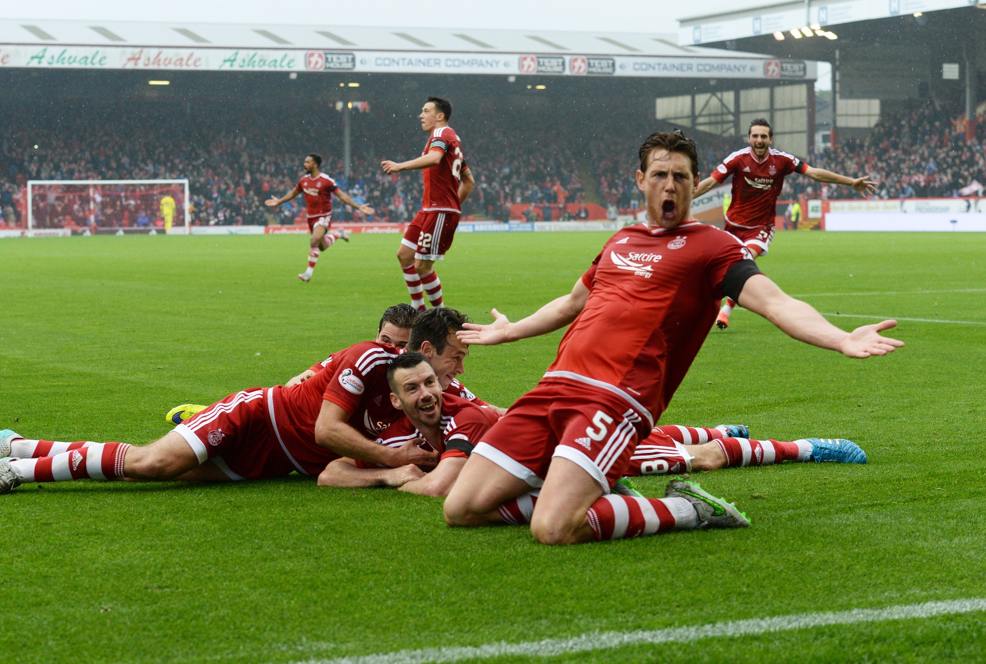 Paul Quinn's winner against Celtic on Saturday further boosted confidence levels at Pittodrie