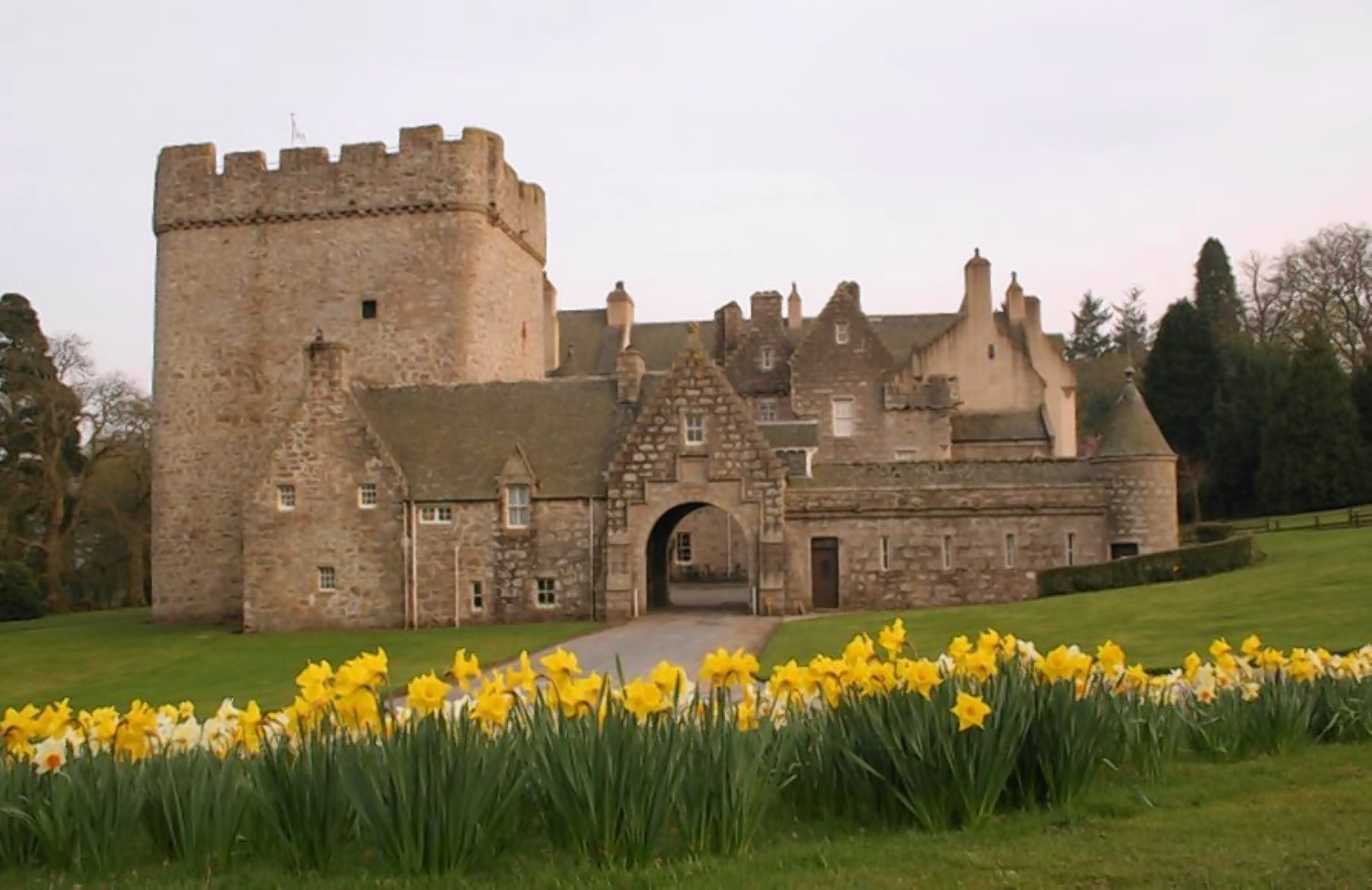 A new art exhibit is to go on display at Drum Castle