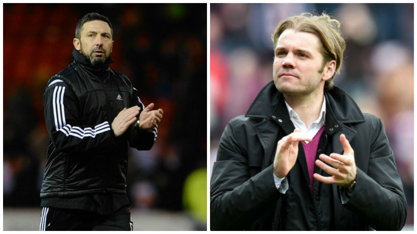 Which manager will be applauding his team's performance by full time today?