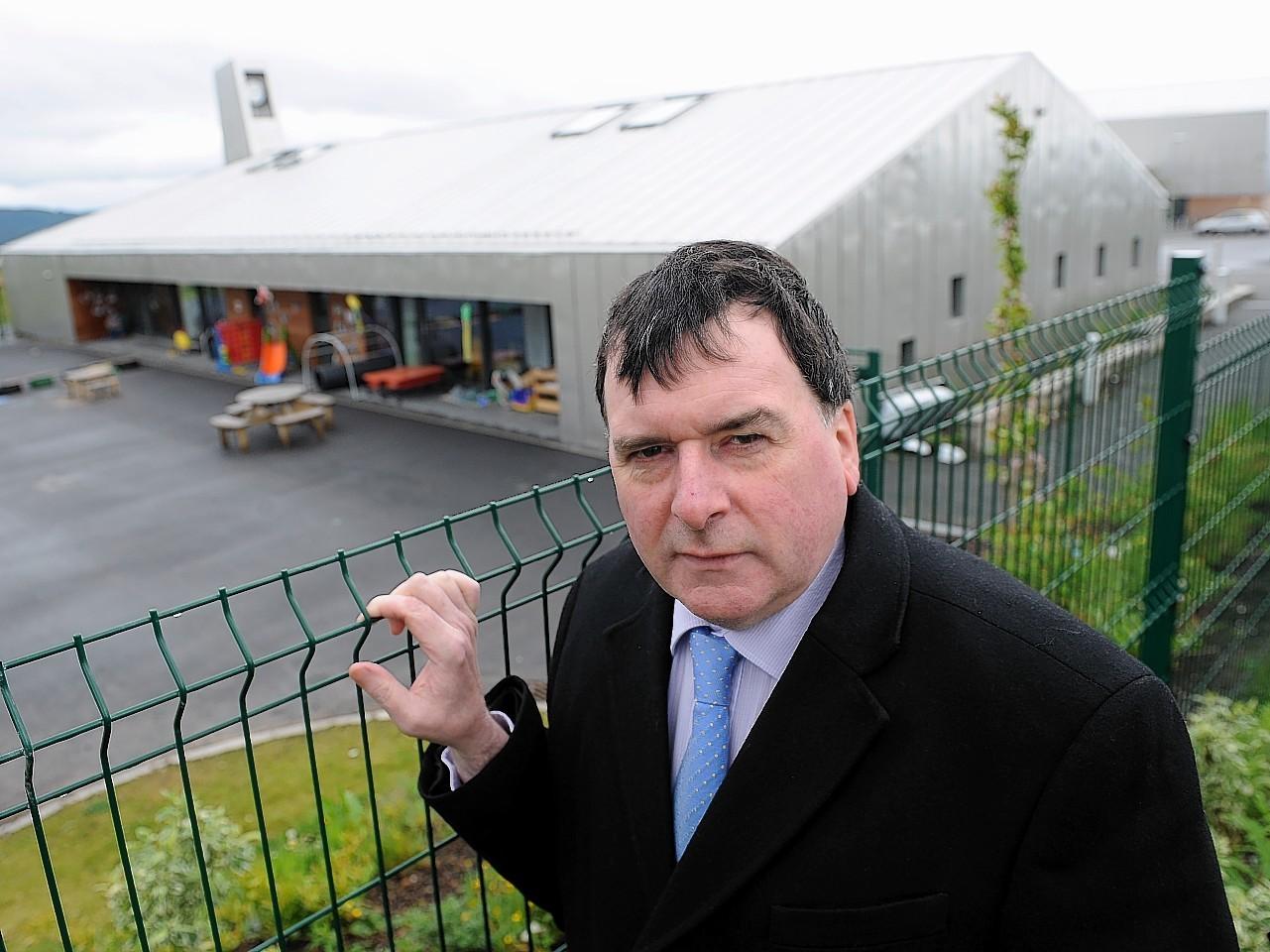 Local Highland SNP councillor Ken Gowans
