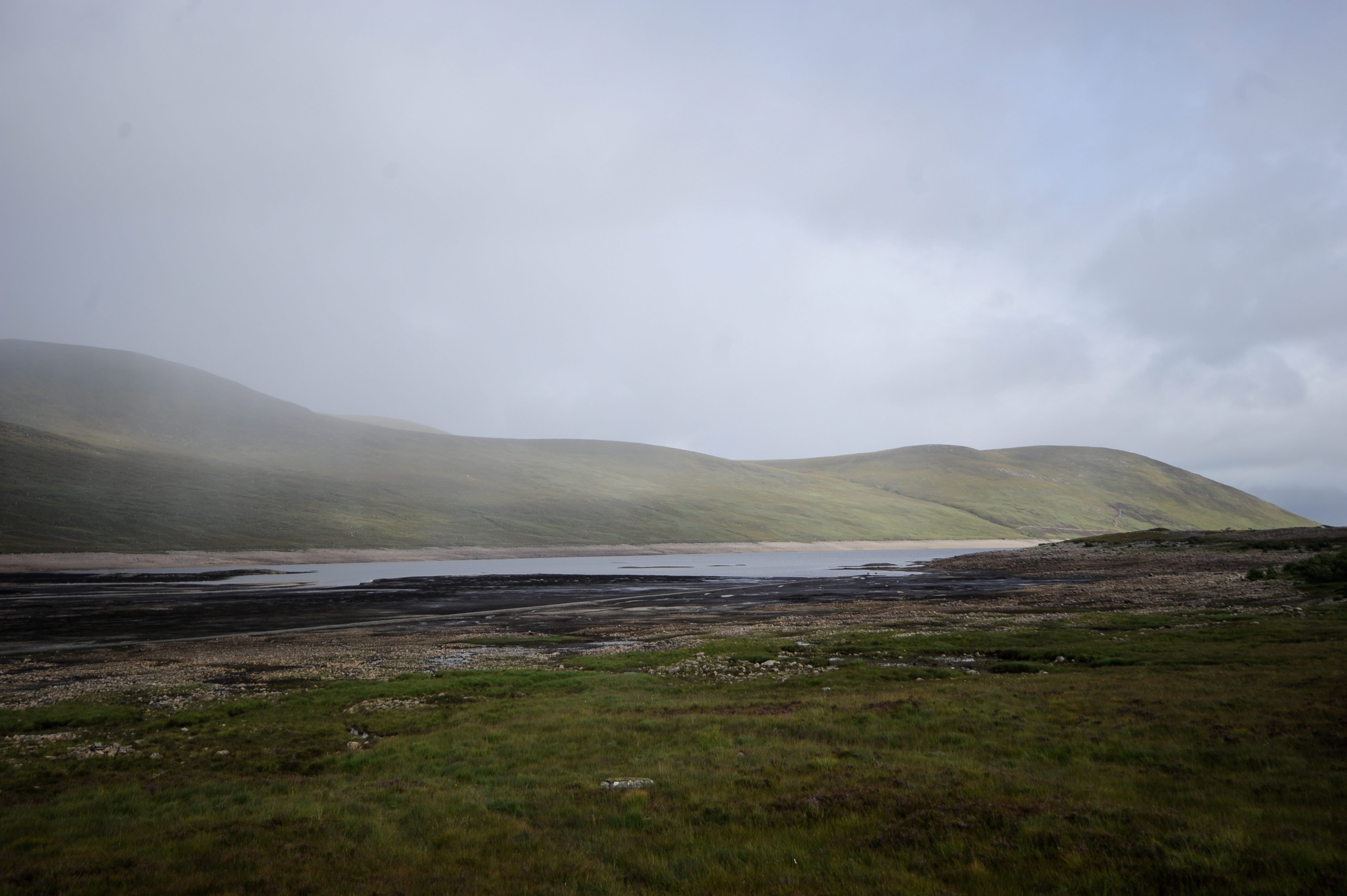 General view of Loch Glascarnoch