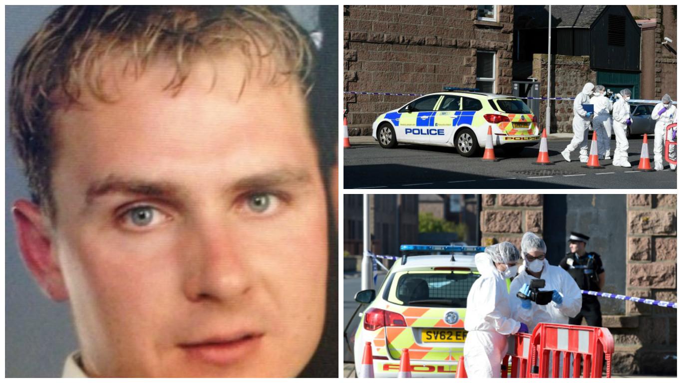 Martynas Krasauskas was found dead in a flat in Peterhead