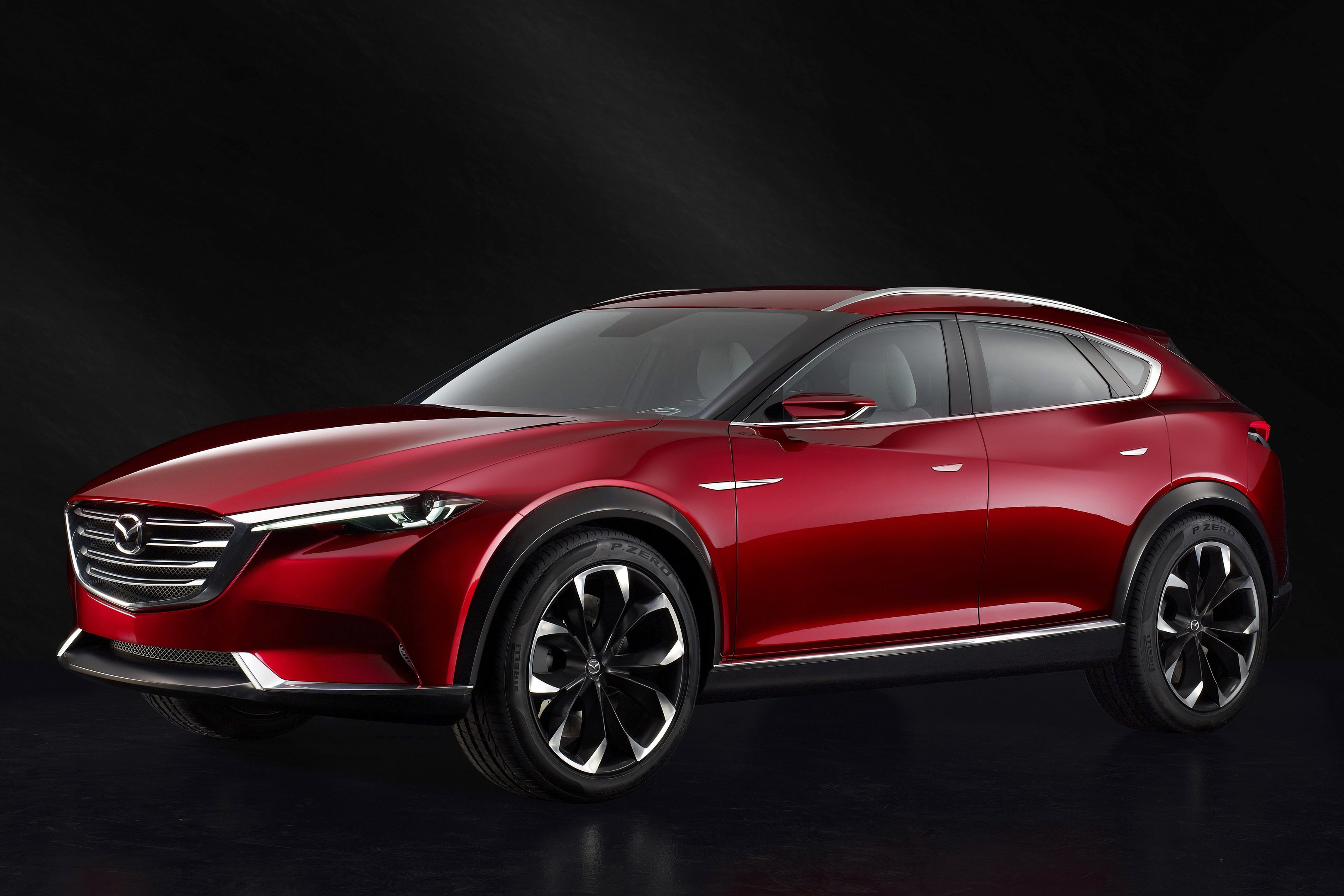 The new Mazda Koeru concept is unveiled to the world