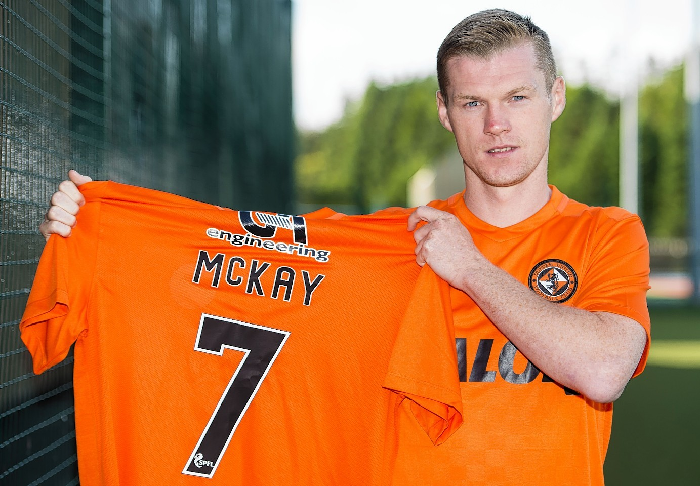 Dundee United signed Billy McKay at the end of the transfer window