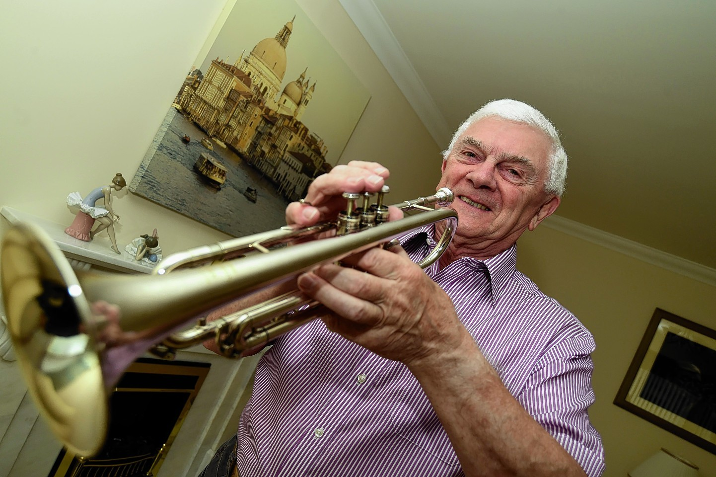Fraserburgh trumpet player Norman Robertson