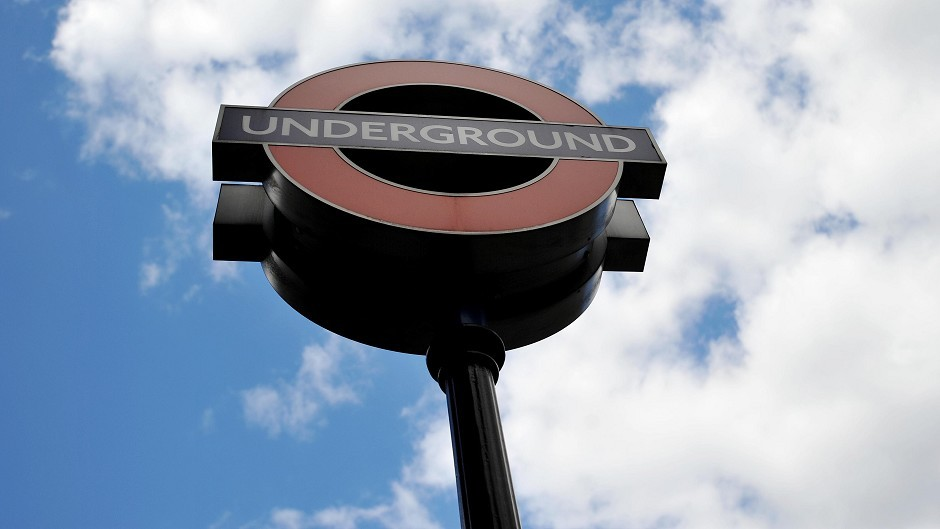 A London underground station was evacuated this morning