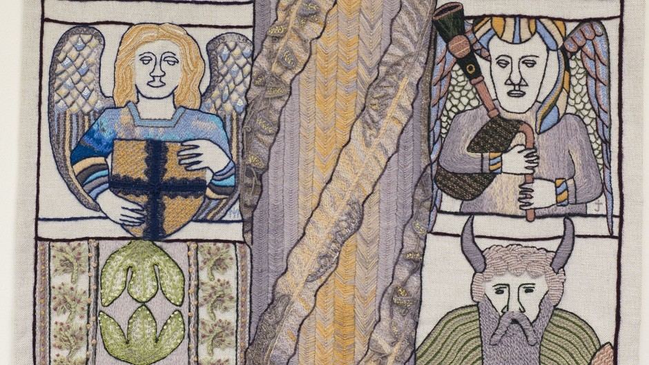 Panels from the Great Tapestry of Scotland will be on show at Inverness Museum and Art Gallery