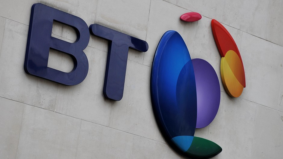 Across Scotland, BT generated £1billion for the economy