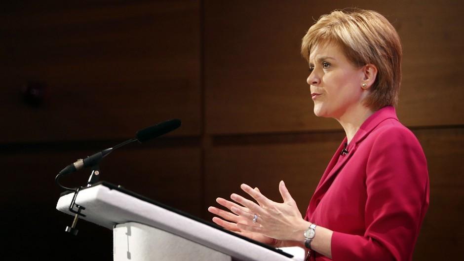 Nicola Sturgeon made the pledge