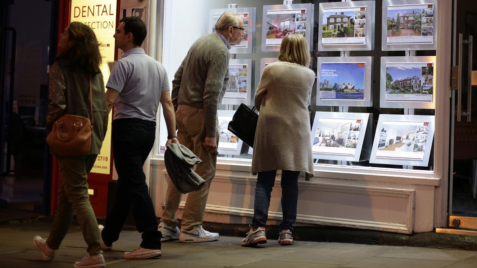 A report showed there were 9,775 housing transactions in Scotland in July