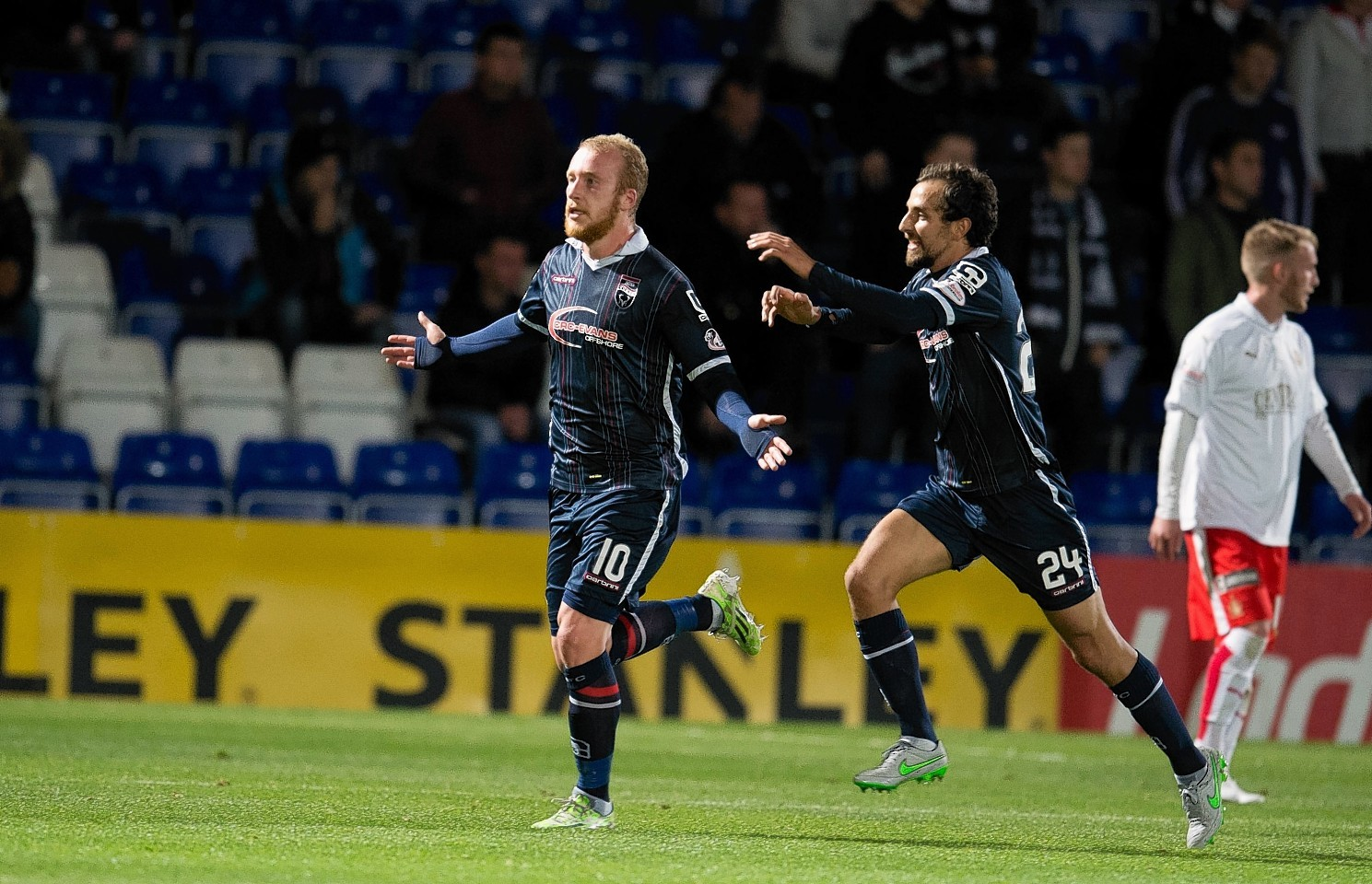 Liam Boyce scored a hat-trick against Caley Thistle at the weekend.