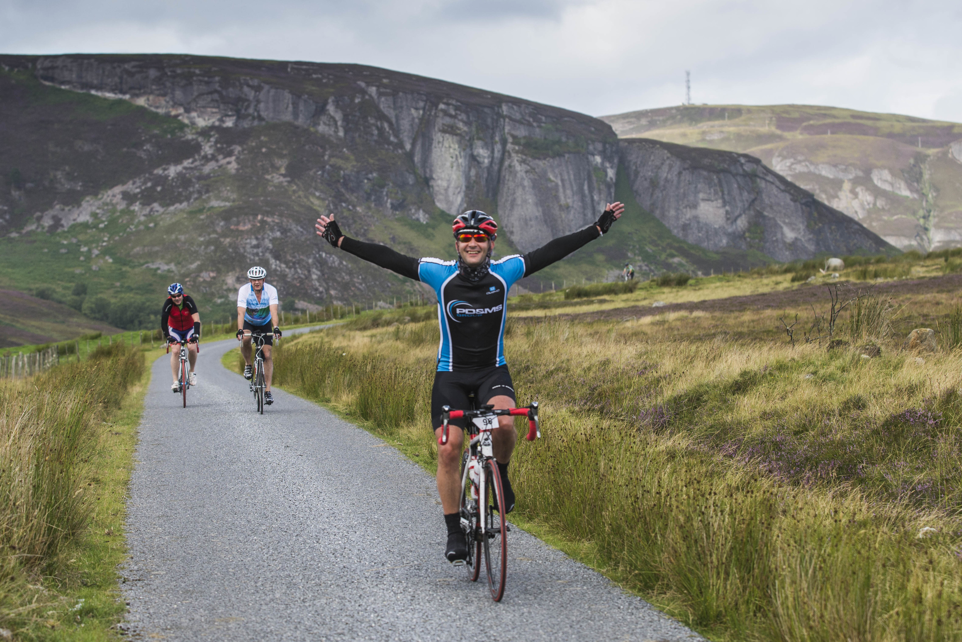 Ride the North 2015 Cycle challenge saw 850 riders cycle from Inverness to Elgin to Stonehaven over two days