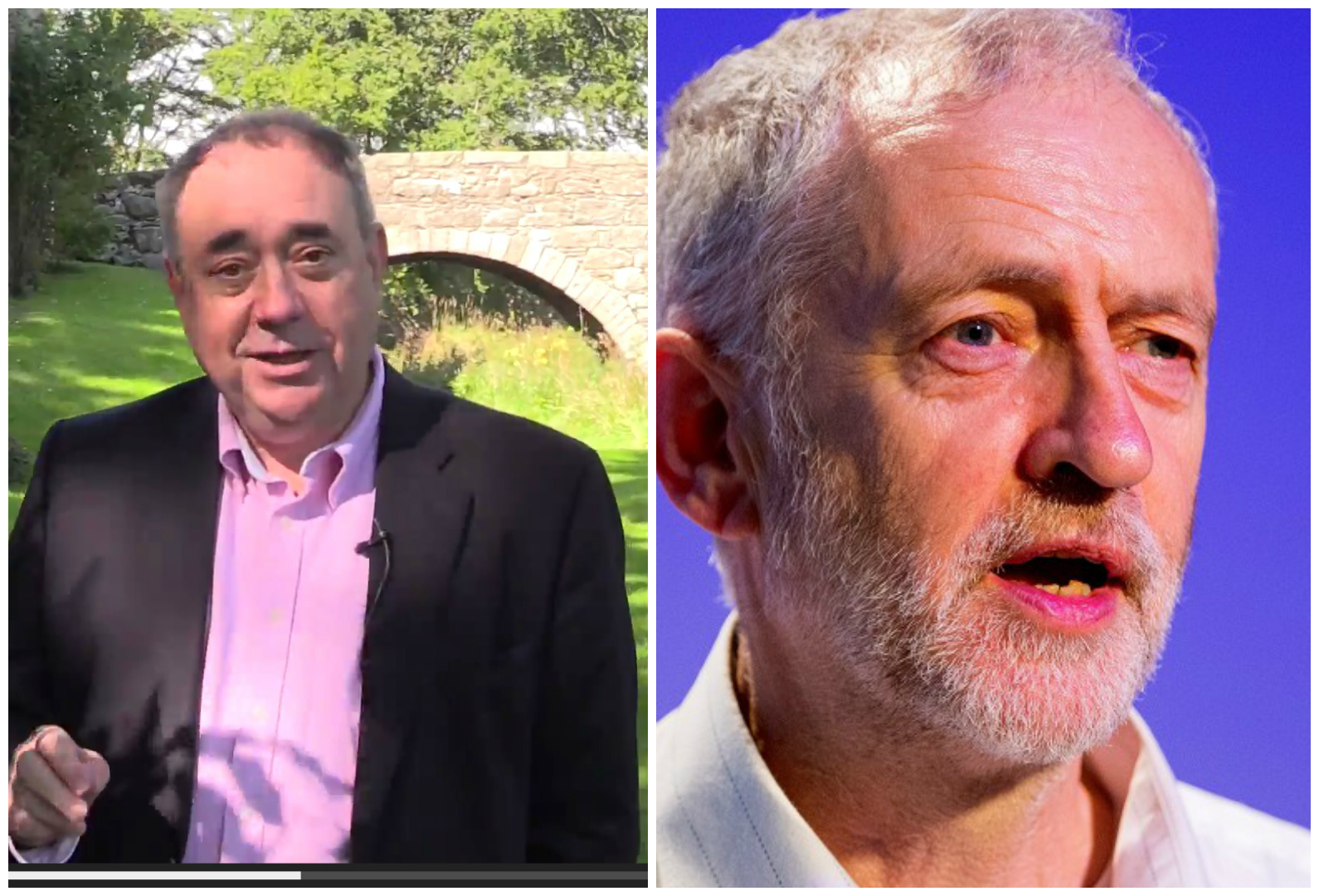 The new Labour leader will face dissent and slurs according to Alex Salmond