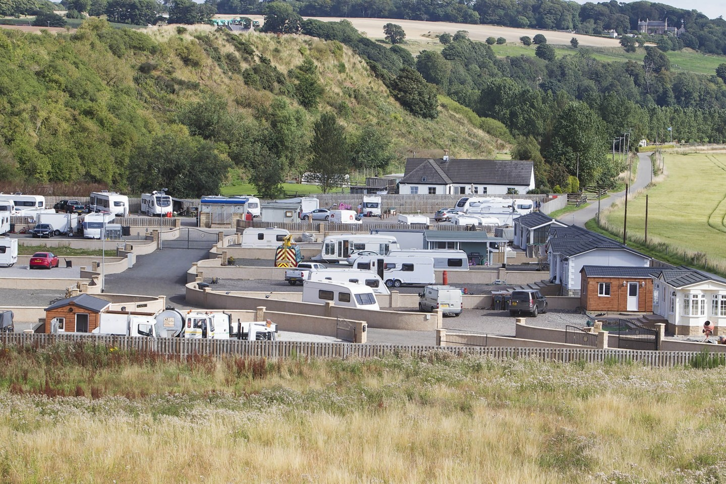 The camp's plans are being recommended for refusal