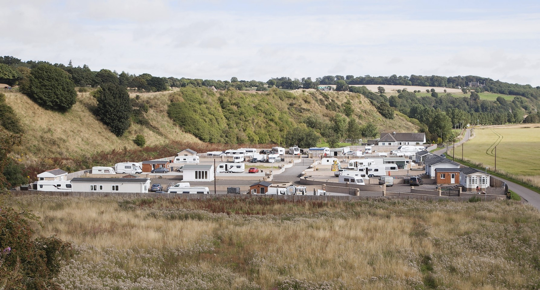 Travellers at St Cyrus given three months notice