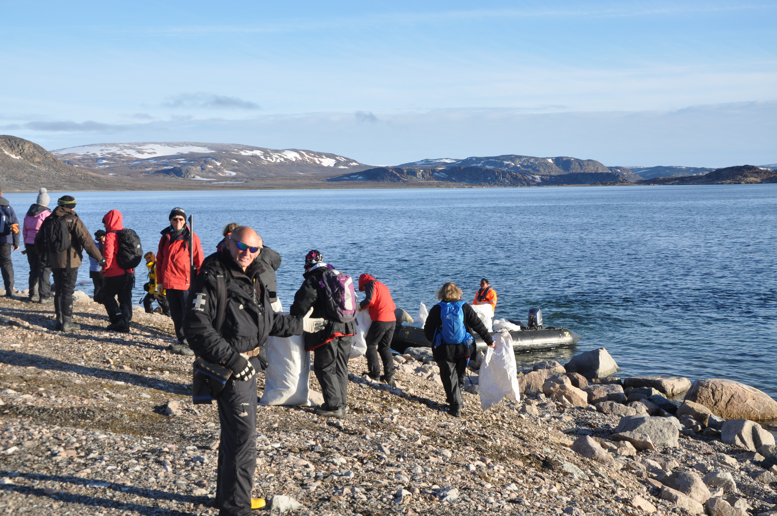 Bill Smith, of Ellon, was part of an Arctic expedition to clear up the coastlines of Svalbard when he came across waste from fishing vessels at Phippsoya - one of the most northerly islands in the world.