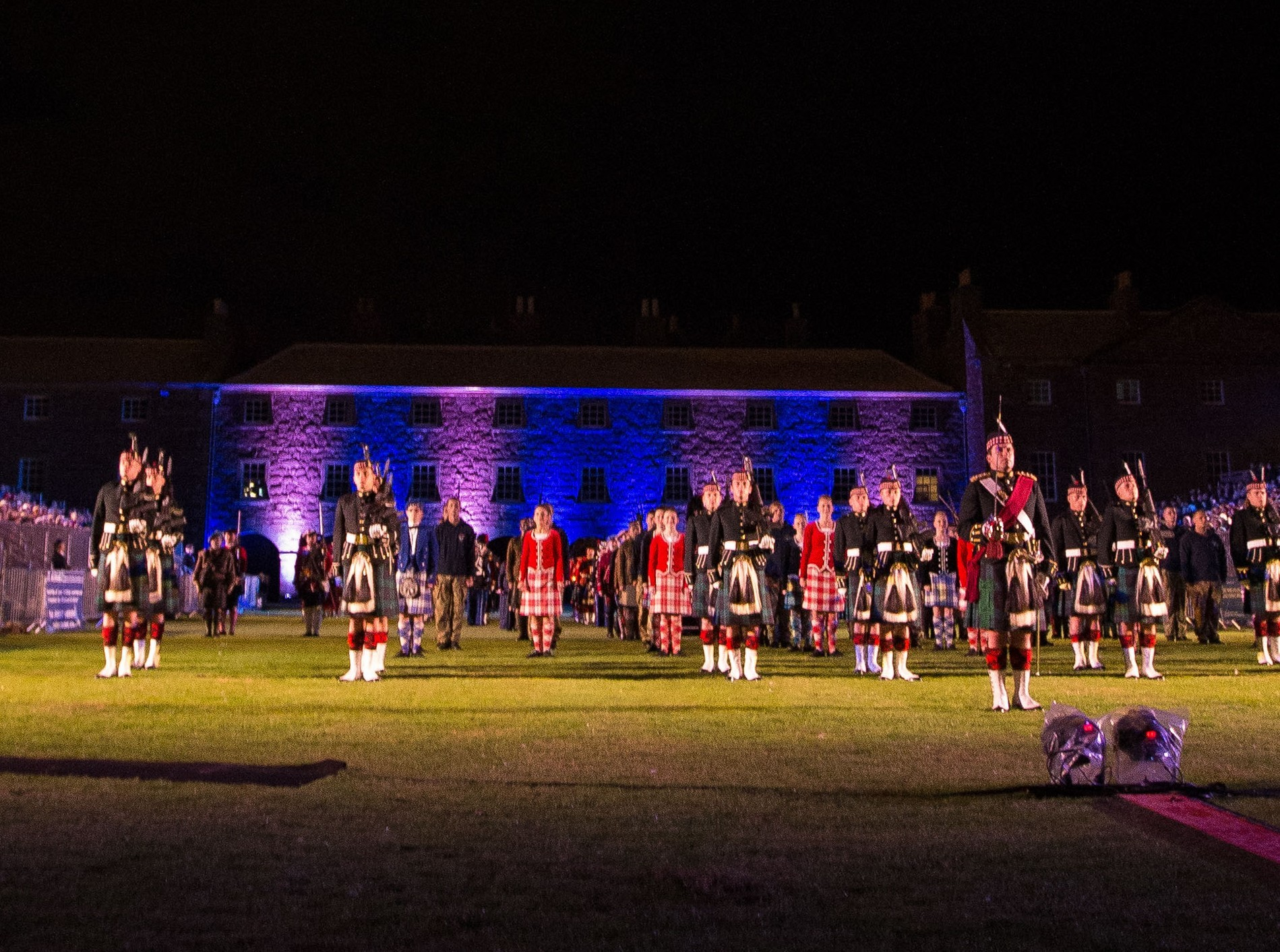 The Highland Military Tattoo at Fort George
