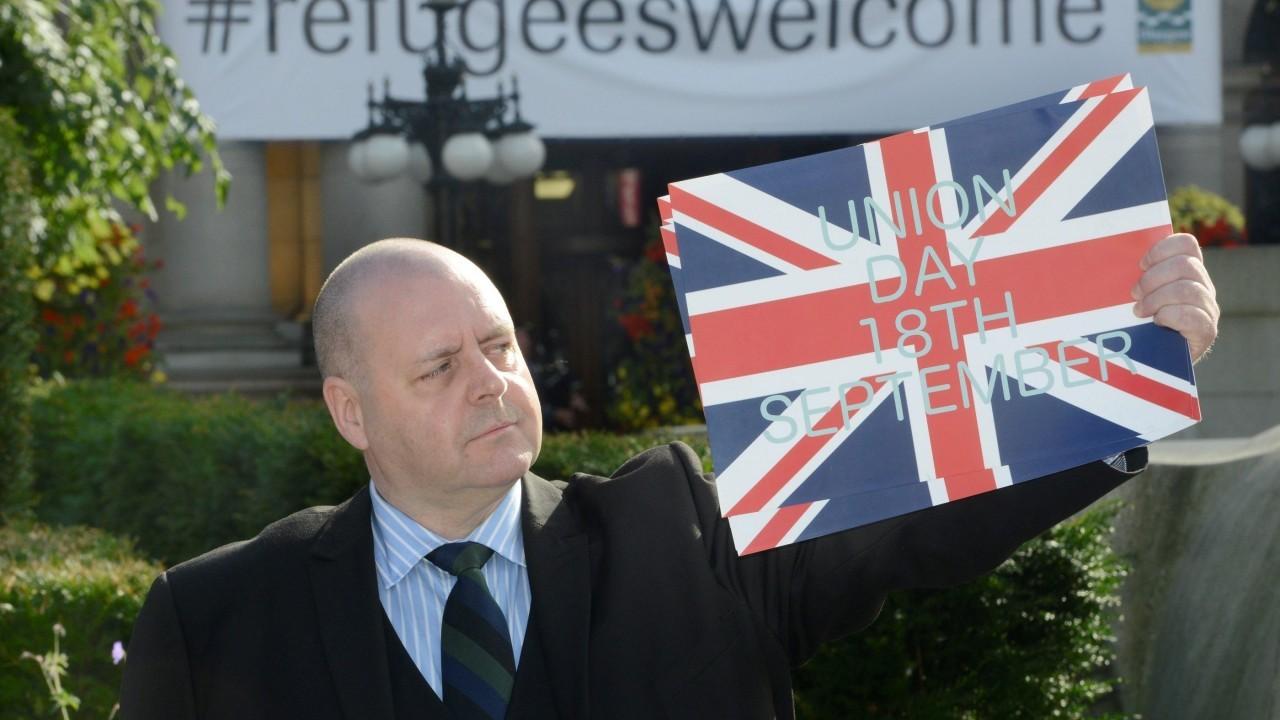 Chairman UKIP Scotland Arthur Misty Thackeray