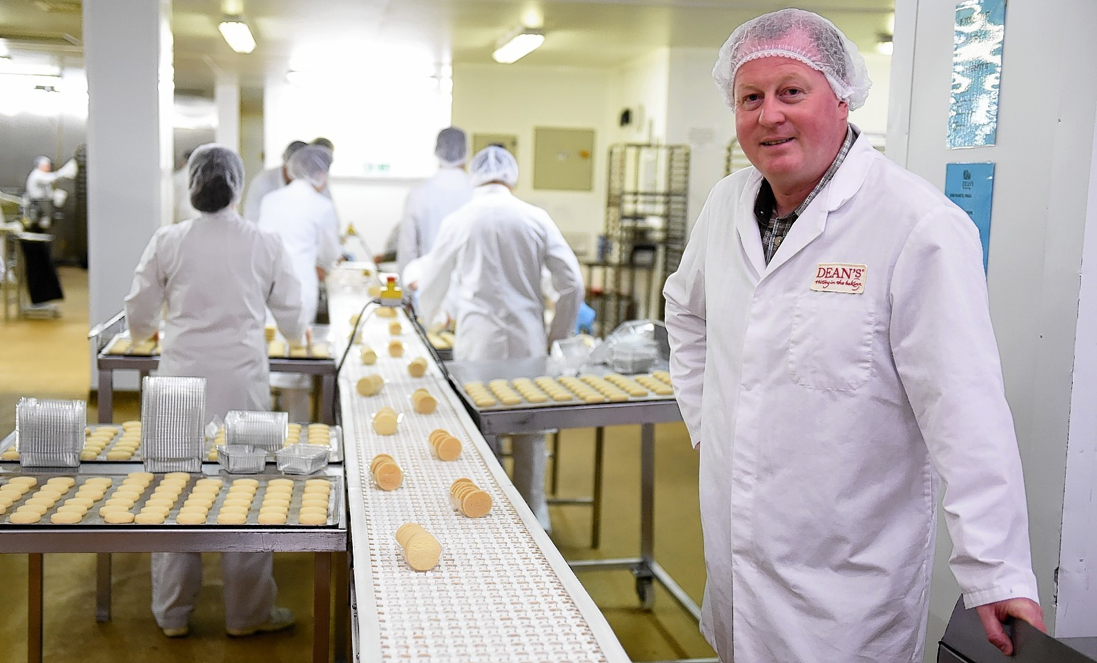 Bill Dean, managing director of Dean's of Huntly, has welcomed the government's decision (Picture by Kami Thomson)
