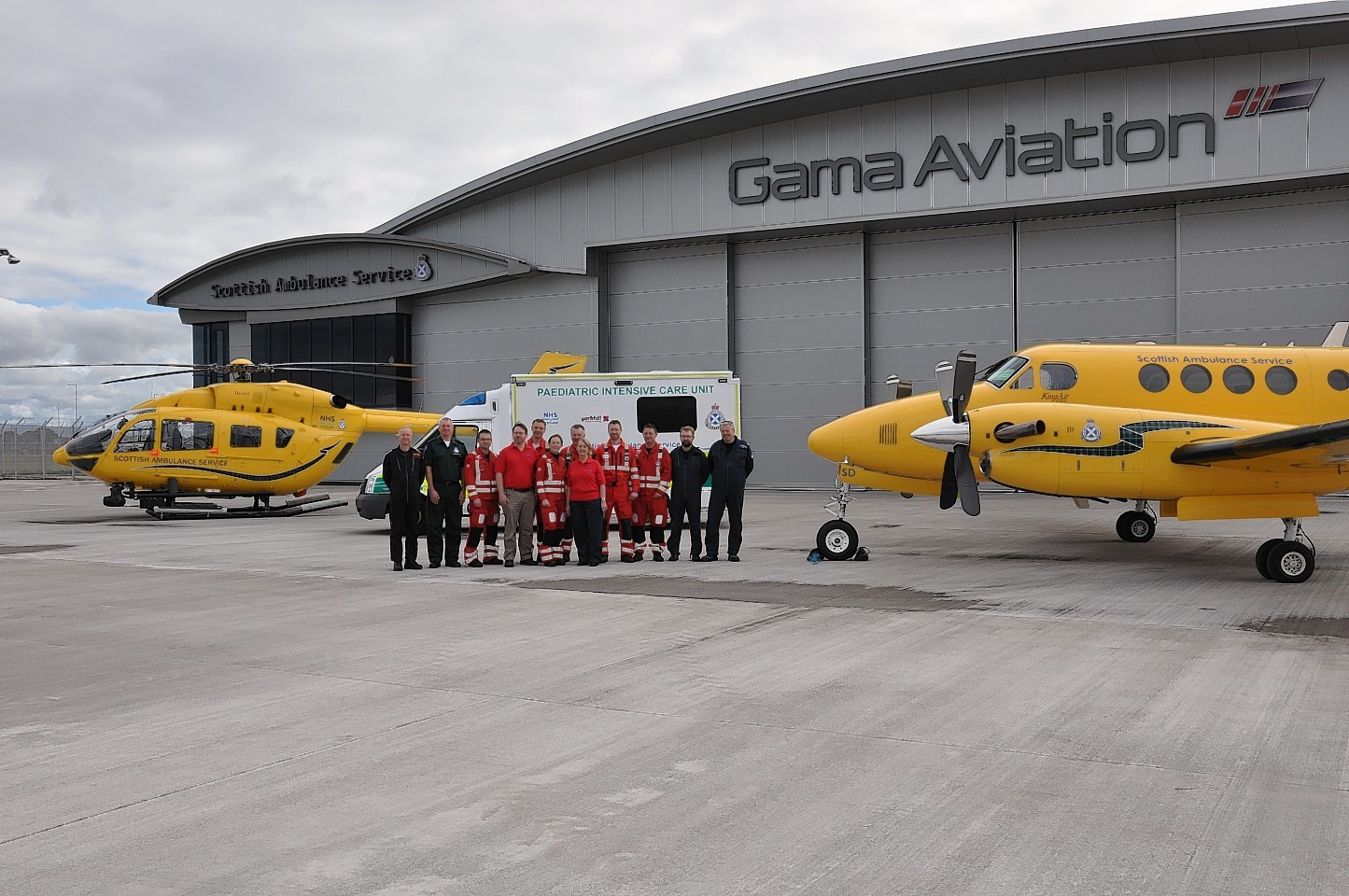 The firm, which counts the Scottish air ambulance service among its biggest clients, was the target of a reverse takeover by private jet operator Hangar 8 earlier this year