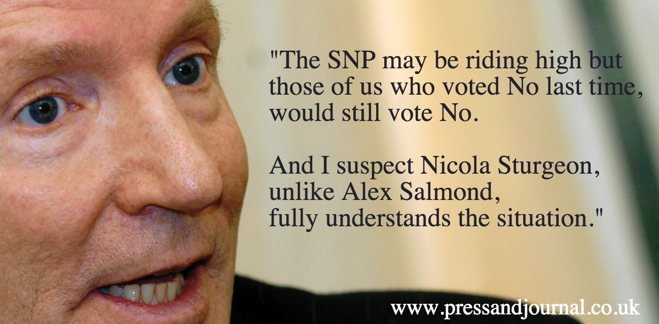 Ian Lakin on voting No