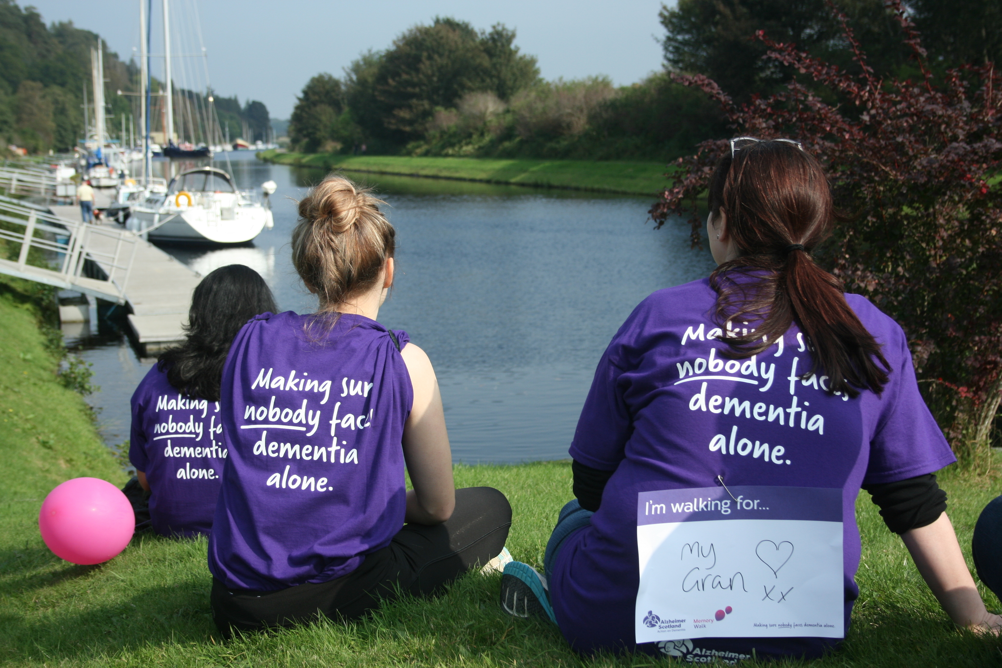 The public are being invited to take part in Saturday's Memory Walk