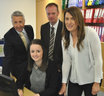Mervyn Stanley, Sarah Cantlay,  Craig Lowther and  Heather Henderson