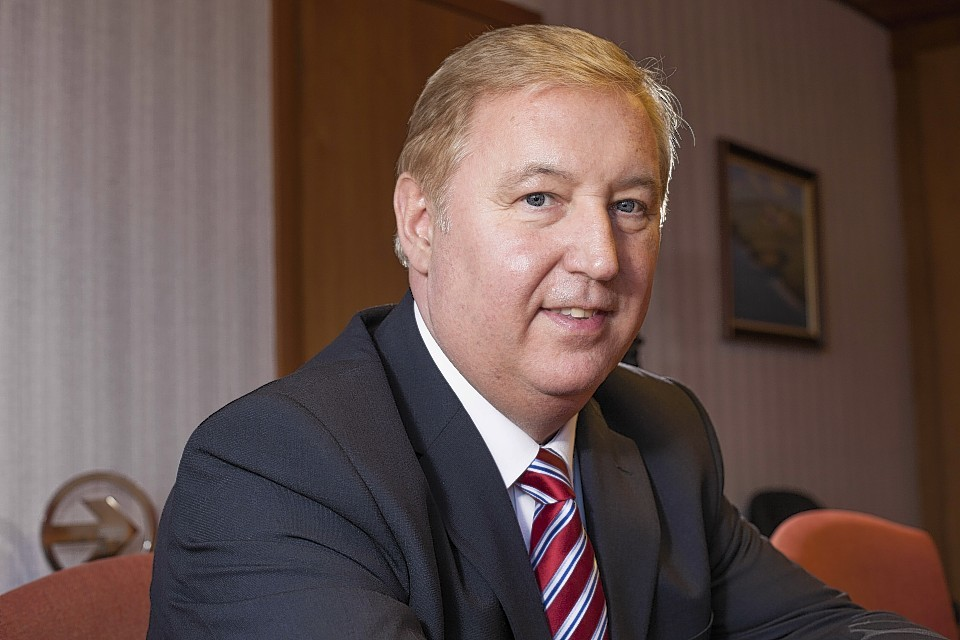 Stewart Adams, chief executive of Loganair