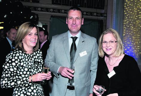 Ishbel Sutherland, Allan Binley and Margo Sutherland
