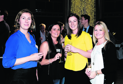 Kerri Fraser, Lisa Greig, Laura Campbell and Adrienne Cryle