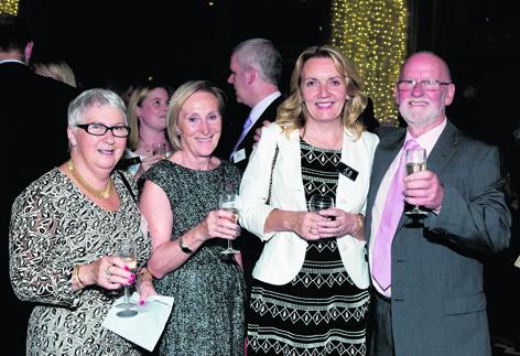 Christine Gordon, Isabel Watts, Gill Pryde and Alastair Gordon