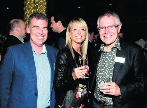 Robbie Gordon, Debbie Ritchie and Colin Watts