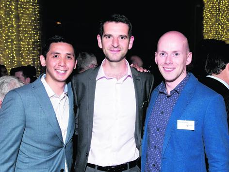 Thomas Ho, Brian McMurray and Alistair McGeough
