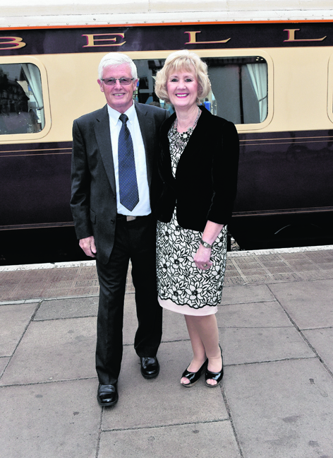 Davie and Sue Higginson