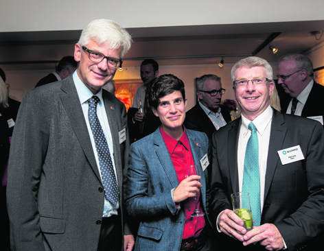 Michael Engell-Jenson, Mariana Carvalho and Peter Cook