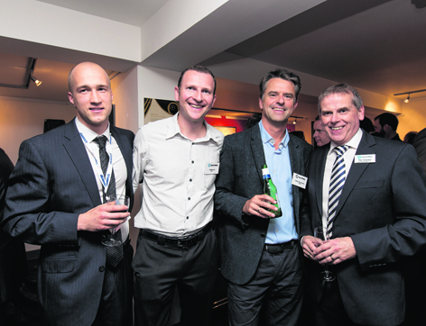 Brian Misiak, Matthew Law, Steinar R Kvinnsland and Brian Champion
