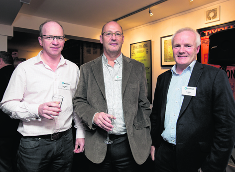 Hendry Duncan, Colin Lorenson and Bruce Gray