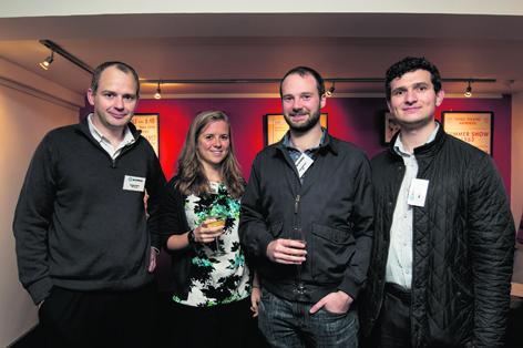 Douglas Noble, Fiona Wilkinson, Ben Anderson and Richard Brown