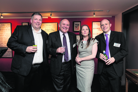 Terry Charleton, Barney Crocket, Siobhan Convery and Andrew MacGregor