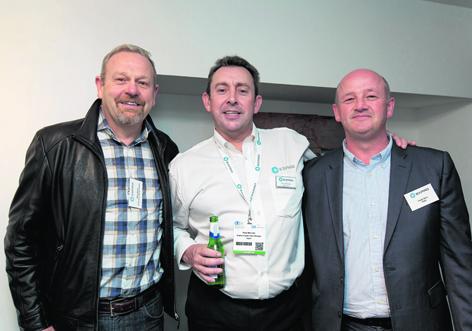 Brian Wood, Paul McLean and Daniel More