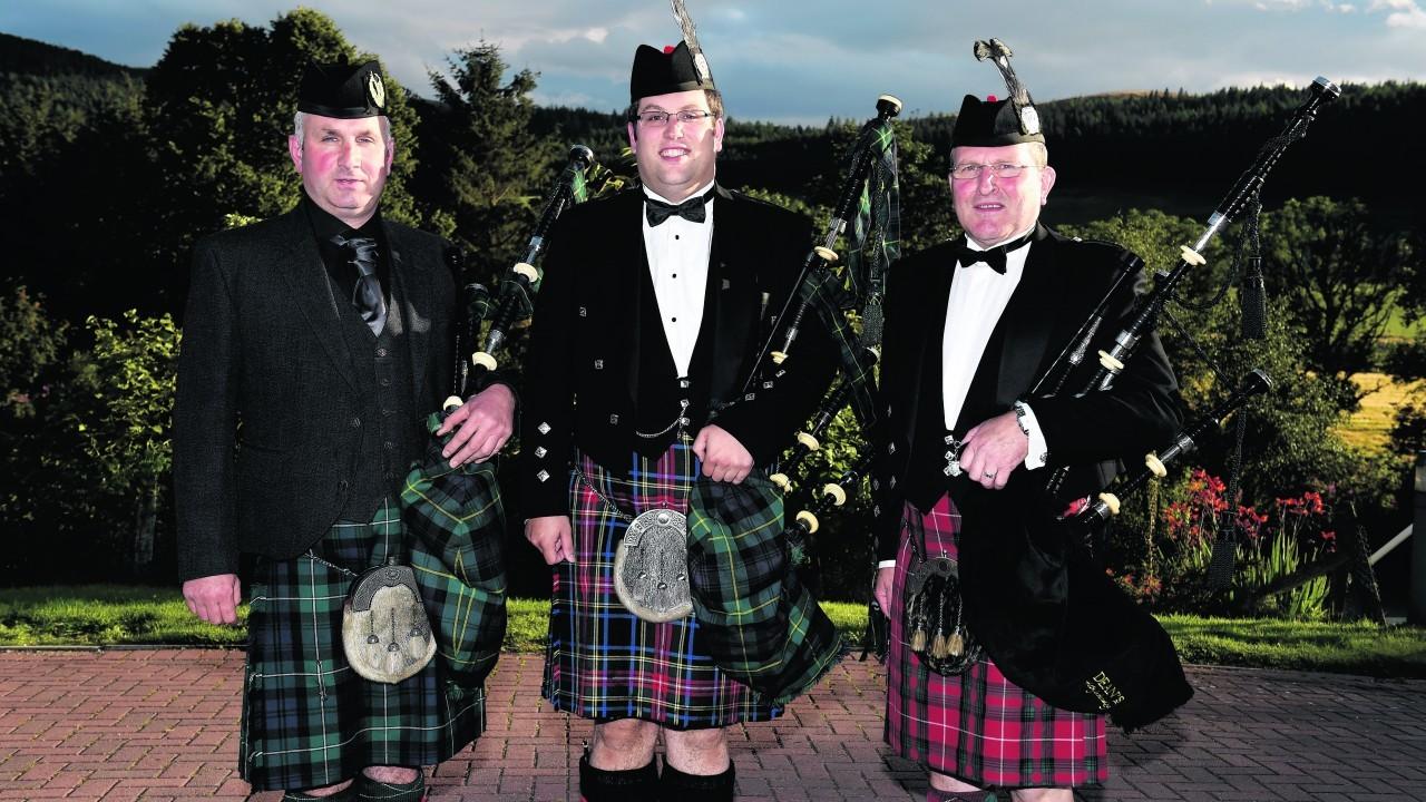 Keith Ogg, Darren Stuart and Ian Stuart.