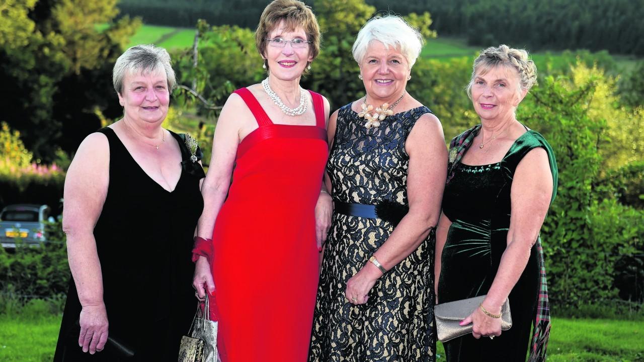 Frances Mavor, Sheena Michie, Kathleen Morrison and Barbra Buchan.