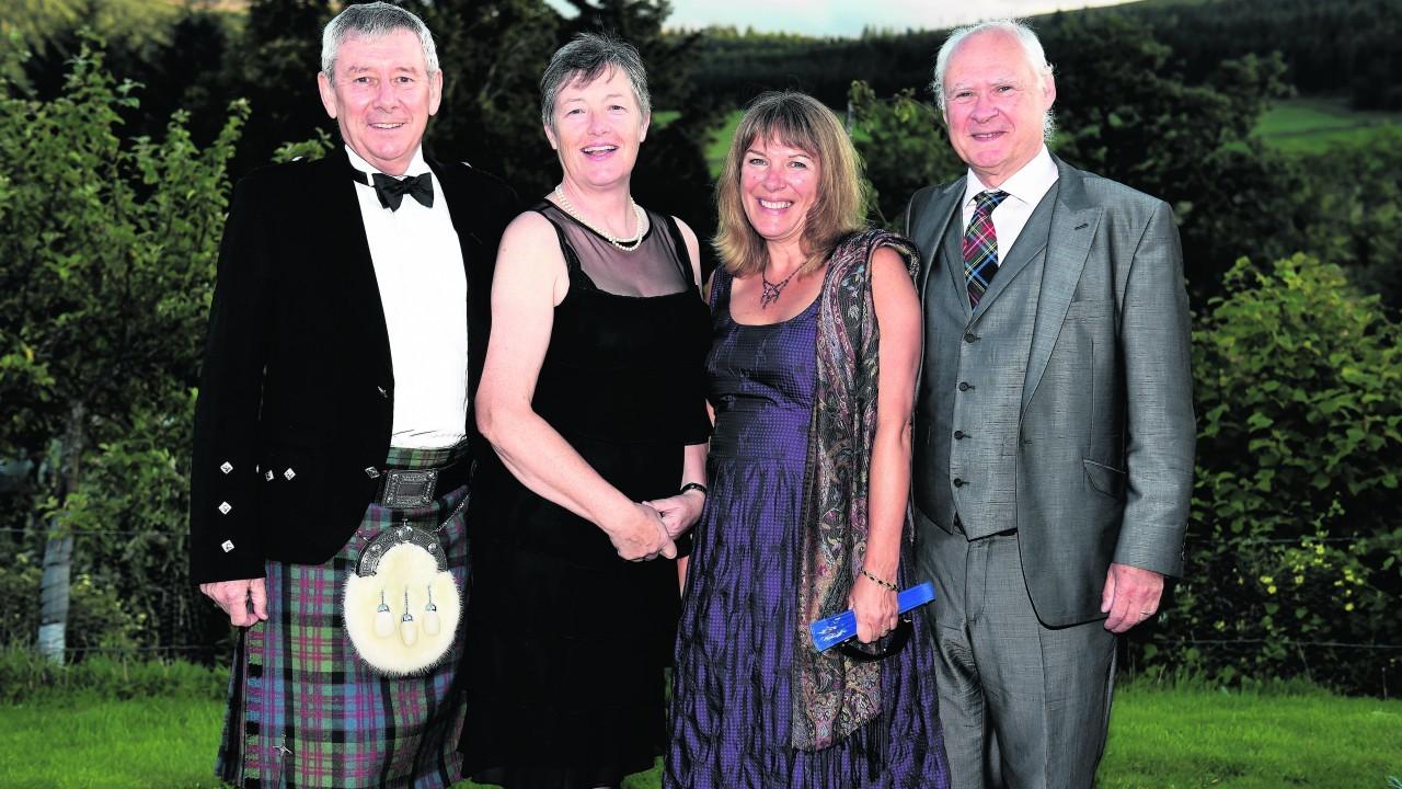 Emonn O'Connor, Brenda Holohan, Irene and Harry Flint.