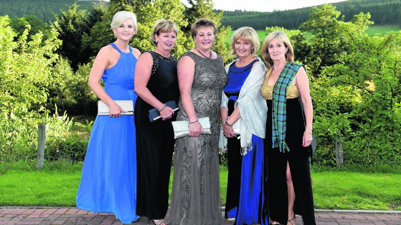 Lucy Simmers, Barbara Stephan, Shelia Davidson, Linda Milne and Helen Booth